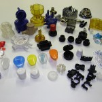 Product samples of plastic injection molds